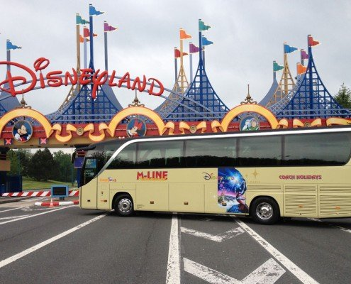 Coach Tours to Disneyland Paris